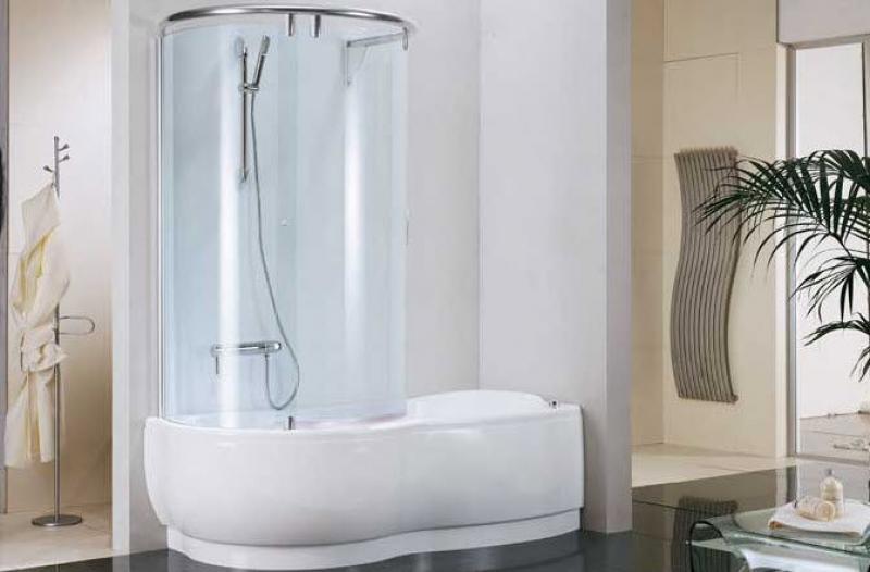 La veneta termosanitaria s r l vasche con telaio - Vasche da bagno con box doccia incorporato ...
