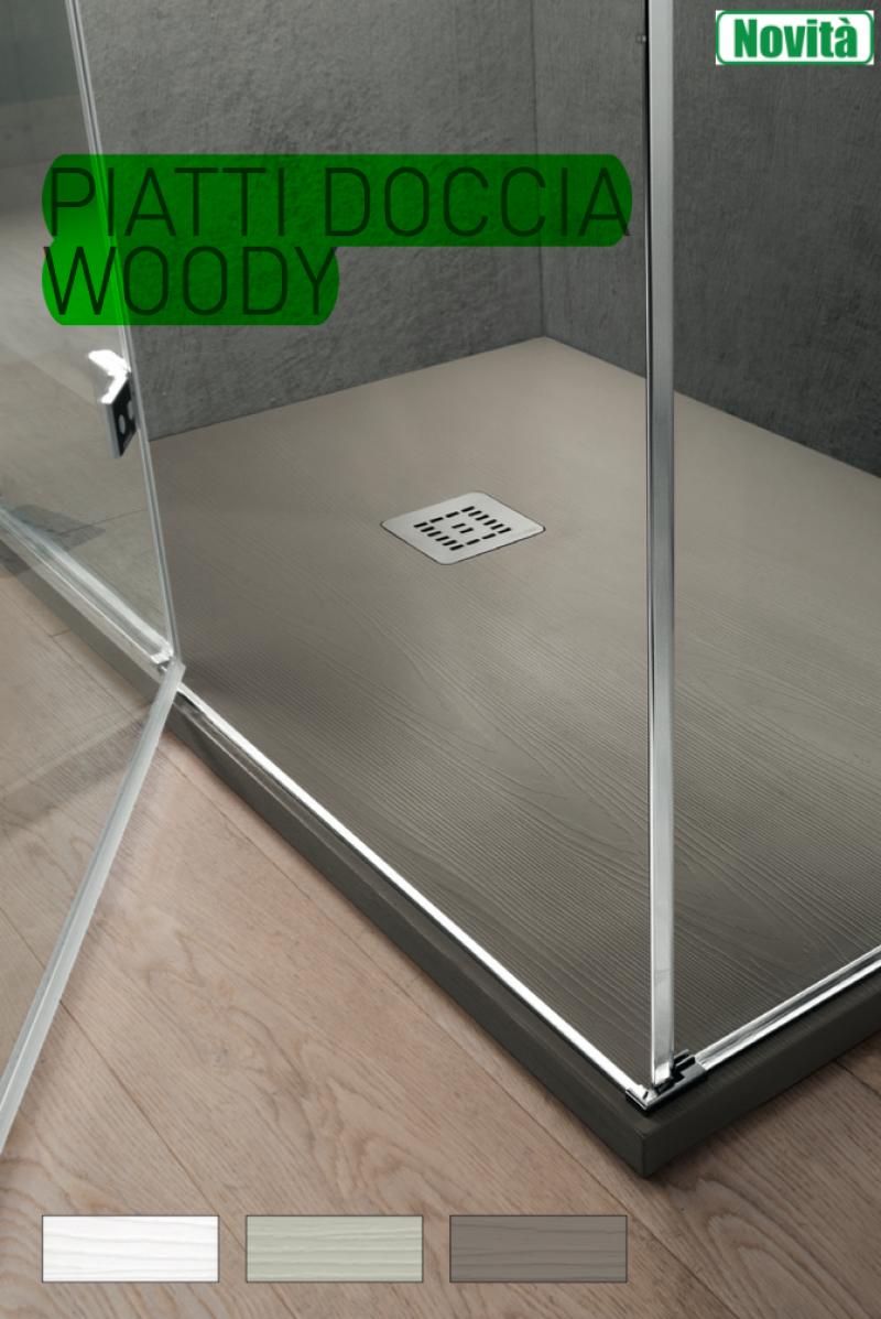 La veneta termosanitaria s r l piatti doccia piatto doccia woody effetto legno su misura - Pavimento bagno effetto legno ...