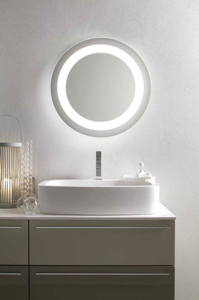 La veneta termosanitaria s r l specchiere bagno specchiera da bagno led orion tonda by - Specchiere da bagno ...