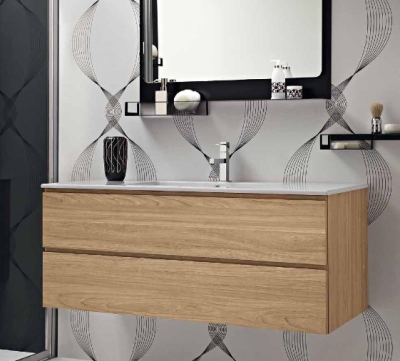 La veneta termosanitaria s r l linee dritte con piano - Lavabo bagno resina ...