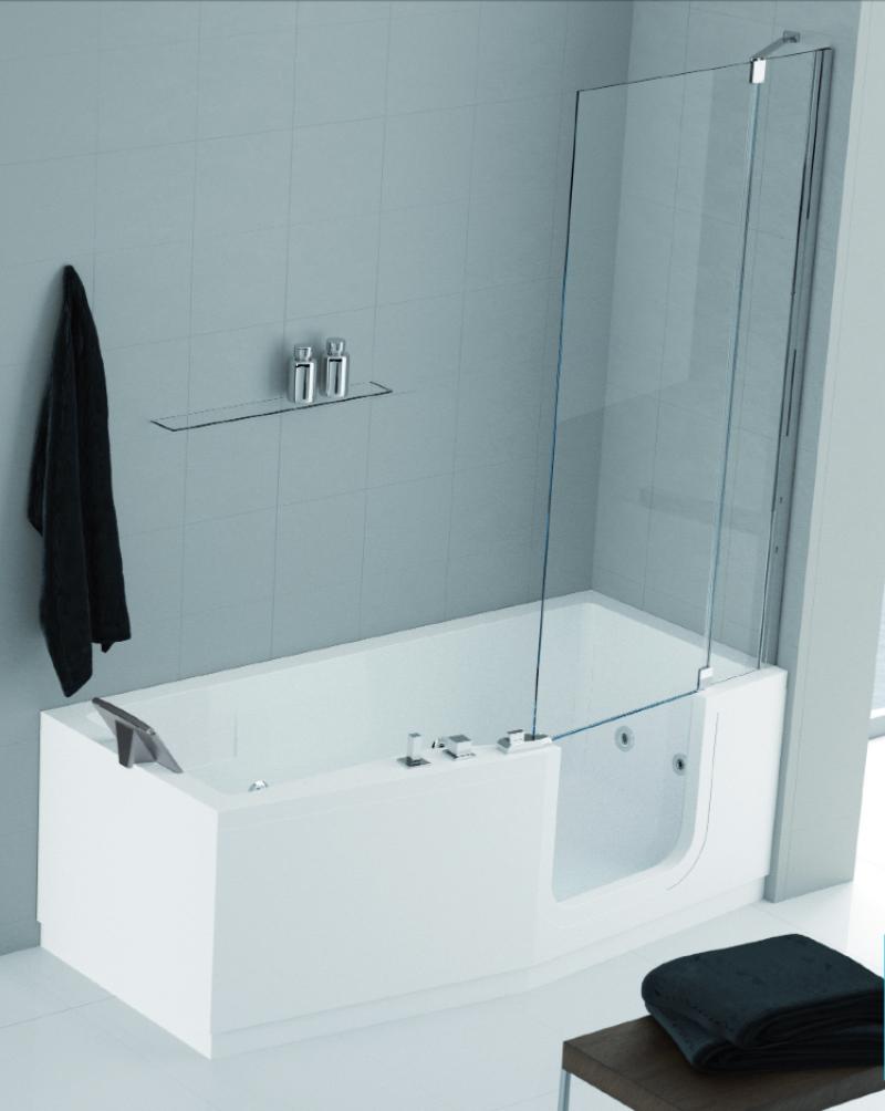 La veneta termosanitaria s r l vasche con telaio - Vasca da bagno e doccia insieme ...