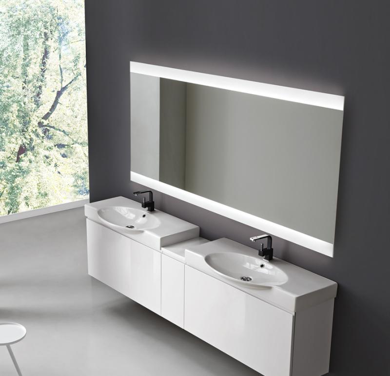 La veneta termosanitaria s r l specchiere bagno specchiera da bagno led vela by vanit casa - Specchiere da bagno ...