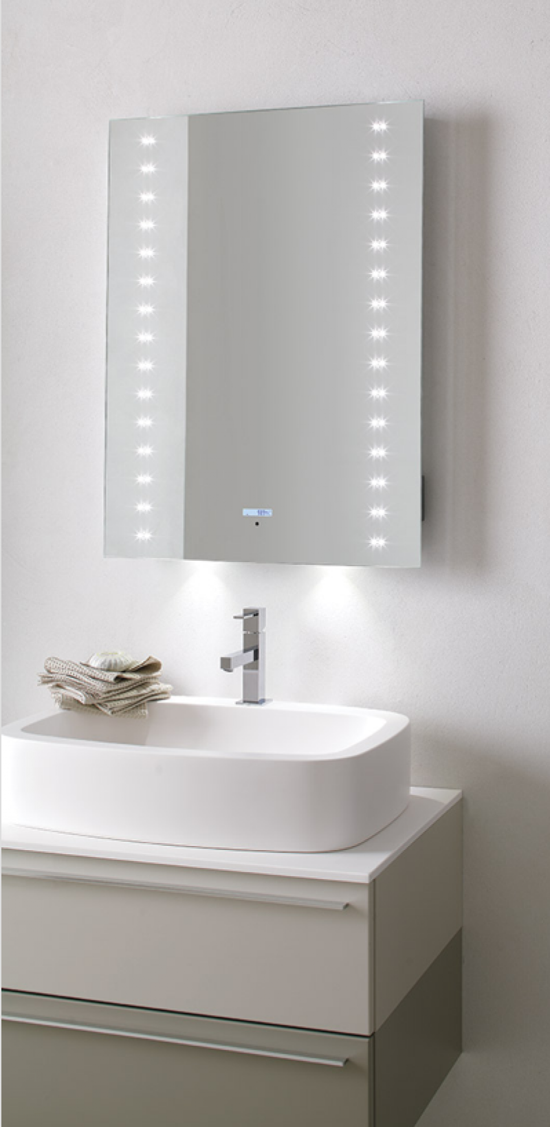 La veneta termosanitaria s r l specchiere bagno specchiera da bagno led multimediale - Specchiere da bagno ...