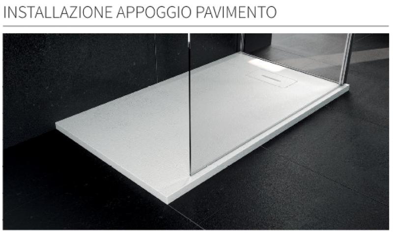 La veneta termosanitaria s r l piatti doccia piatto - Installazione piatto doccia filo pavimento ...