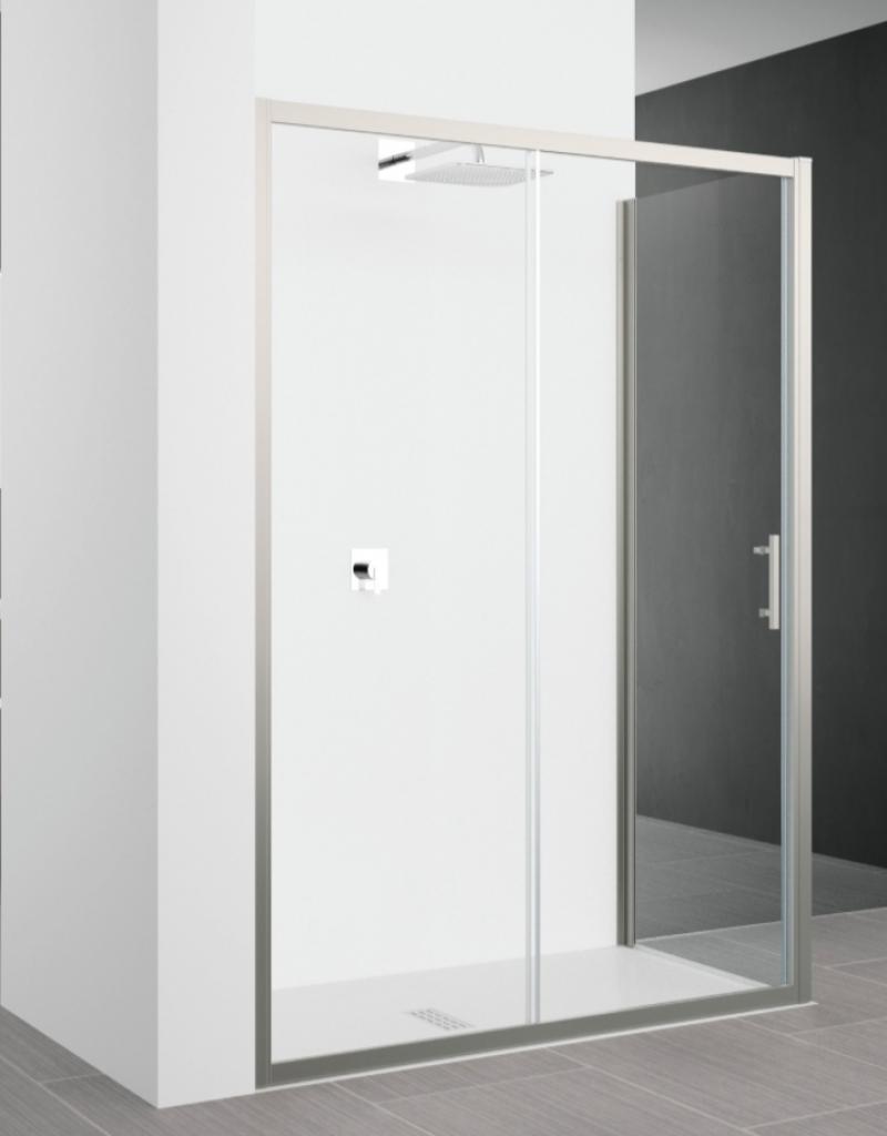 La veneta termosanitaria s r l box doccia lato fisso - Misure porta scorrevole ...