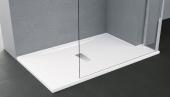 Piatto doccia Custom h. 3,5 cm. sagomabile a misura bianco fondo anti scivolo