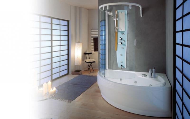 Box Vasca Da Bagno Angolare : Parete per vasca da bagno angolare: vasche ad angolo bagno vasche